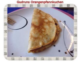Kuchen: Orangenpfannkuchen - Rezept