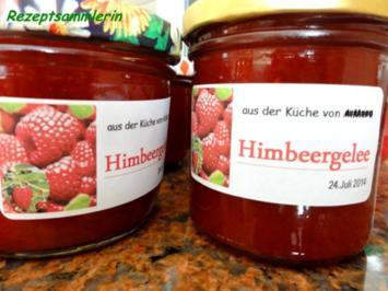 Rezept: M+G: HIMBEERGELEE