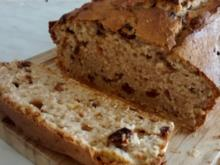 Vollkorn Rumrosinenkuchen mit Quark - Rezept