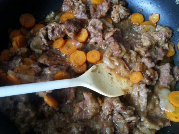 Rindfleisch in Biersauce - Rezept