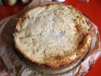 Rezept: Kirsch - Kokos - Kuchen mit Creme Fraiche