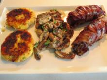 Bacon-Beef-Rolls vom Grill - Rezept