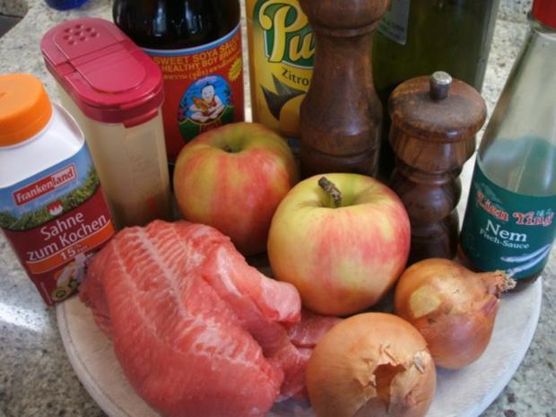 Fisch: Wels-Curry mit Cashew-Reis - Rezept - Bild Nr. 2