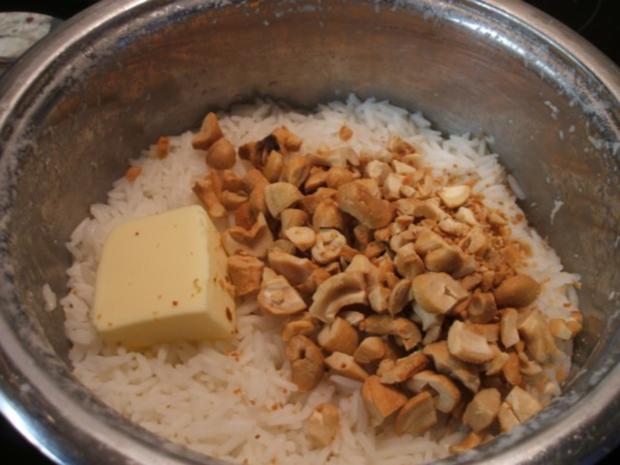 Fisch: Wels-Curry mit Cashew-Reis - Rezept - Bild Nr. 9