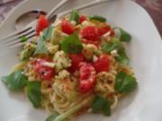 Avocado-Tomaten -Nudeln - Rezept