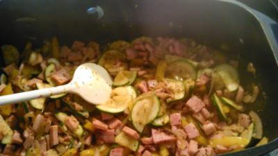 Scharfe Kartoffelpfanne - Rezept