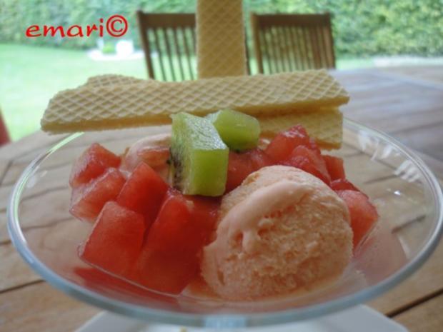 Melonen Eis - Rezept - Bild Nr. 2