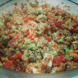 Rezept: Quinoa-Salat