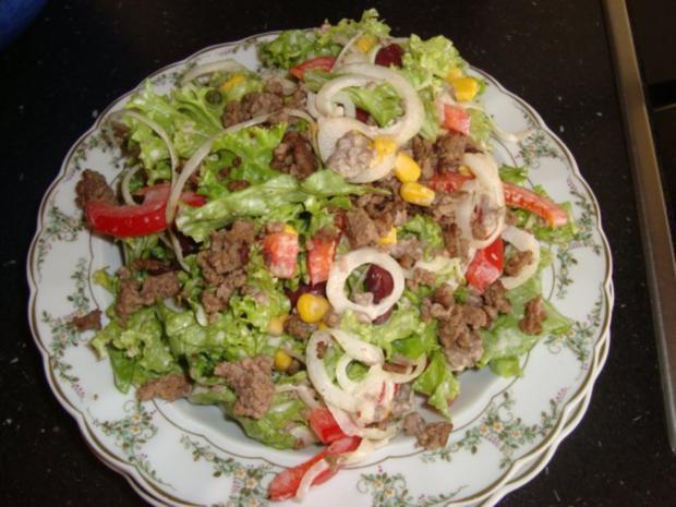 Hackfleisch-Salat - Rezept