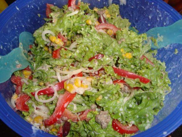 Hackfleisch-Salat - Rezept - Bild Nr. 8