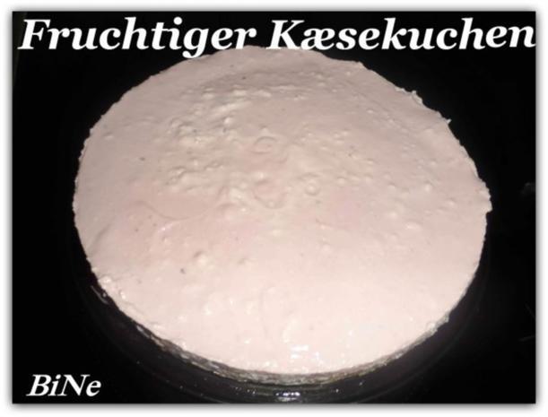 BiNe` S FRUCHTIGER KÆSEKUCHEN - Rezept - Bild Nr. 5