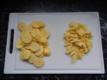Pommes frites - selbstgemacht - - Rezept