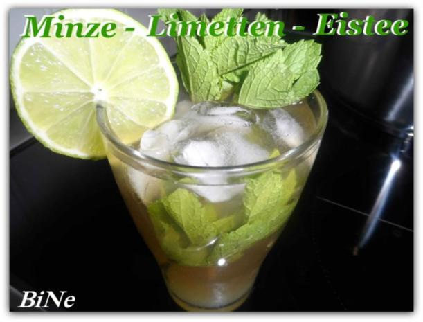 BiNe` S MINZE - LIMETTEN - EISTEE - Rezept - Bild Nr. 2