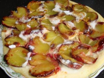 Rezept: Pflaumen - Pfannkuchen
