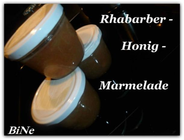 BiNe` S RHABARBER - HONIG - MARMELADE - Rezept - Bild Nr. 2