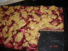 Zwetschgenkuchen mit Mandelstreusel - Rezept
