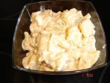 Heimi`s Kartoffelsalat mit Seelachsschnitzel - Rezept