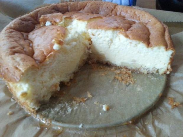 Cheesecake Fur 18cm Rezept Mit Bild Kochbar De