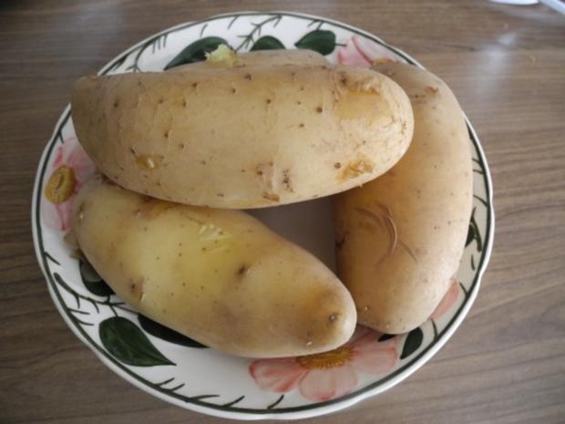 Vegetarisch : Bunter Kartoffelsalat mit Ziegen - Feta - Rezept - Bild Nr. 4
