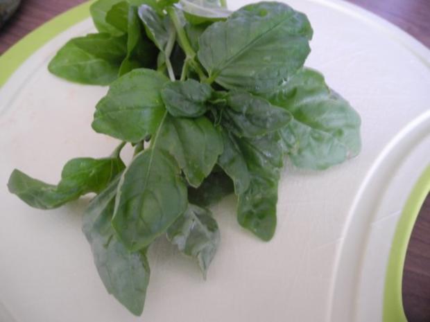 Vegetarisch : Bunter Kartoffelsalat mit Ziegen - Feta - Rezept - Bild Nr. 5