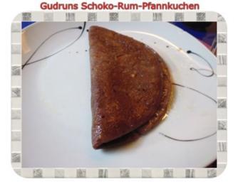 Kuchen: Schoko-Rum-Pfannkuchen - Rezept
