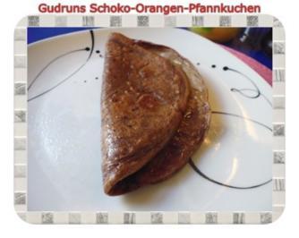 Kuchen: Schoko-Orangen-Pfannkuchen - Rezept
