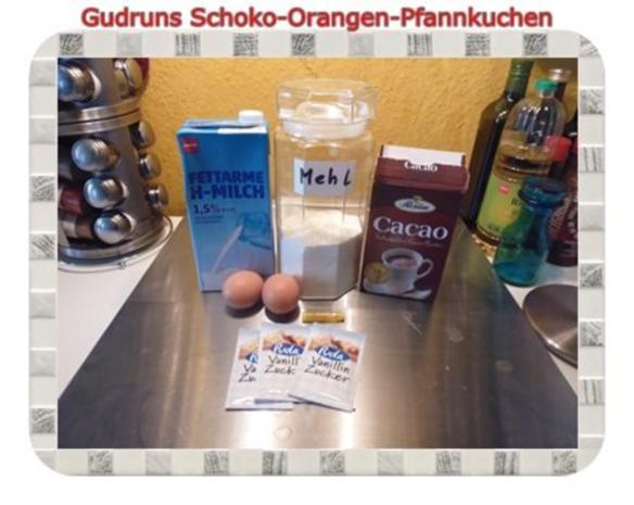Kuchen: Schoko-Mandel-Pfannkuchen - Rezept - Bild Nr. 2