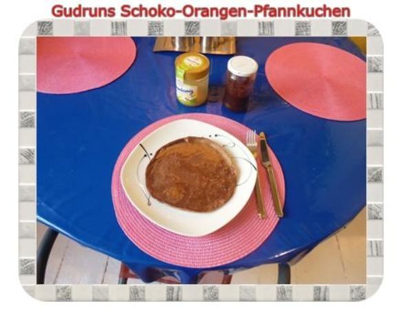 Kuchen: Schoko-Mandel-Pfannkuchen - Rezept - Bild Nr. 11