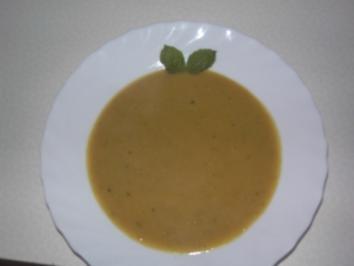 Suppe aus roten Linsen - Rezept