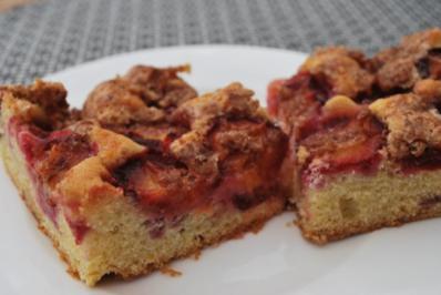 Schwedischer Pflaumenkuchen - Rezept