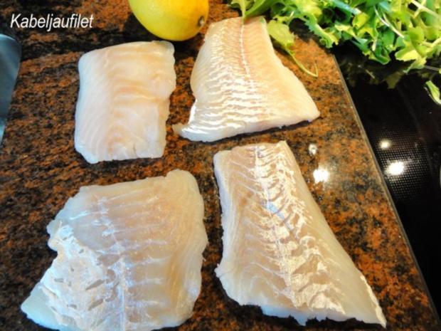Fisch:   KABELJAU  gebraten - Rezept - Bild Nr. 2