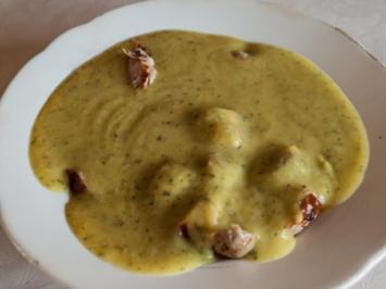 Suppenküche: Zucchinicremesuppe - Rezept