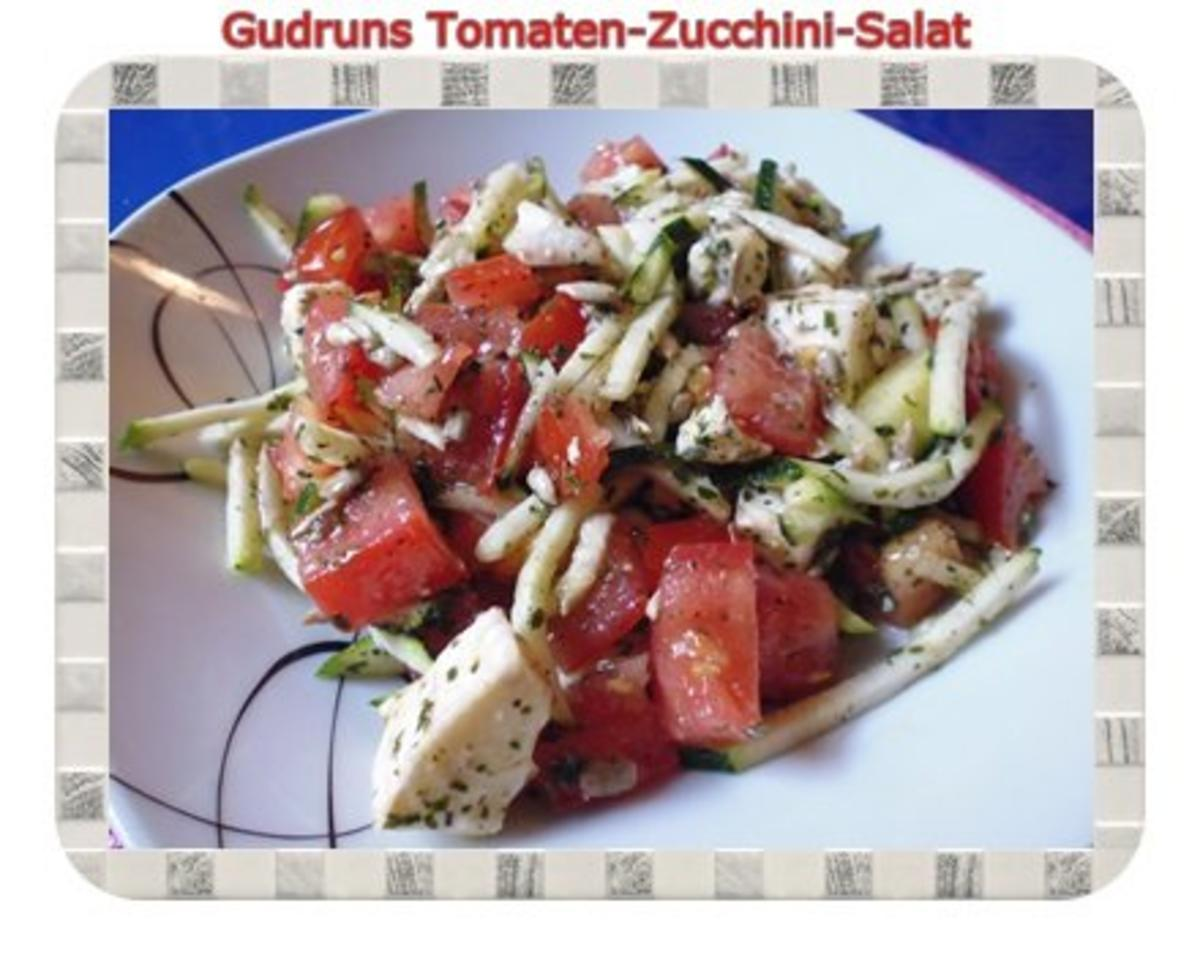 salat tomaten zucchini salat rezept mit bild. Black Bedroom Furniture Sets. Home Design Ideas