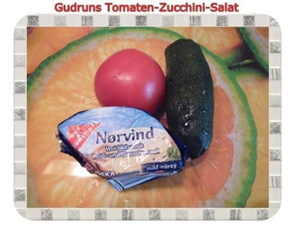 Salat: Tomaten-Zucchini-Salat - Rezept - Bild Nr. 2
