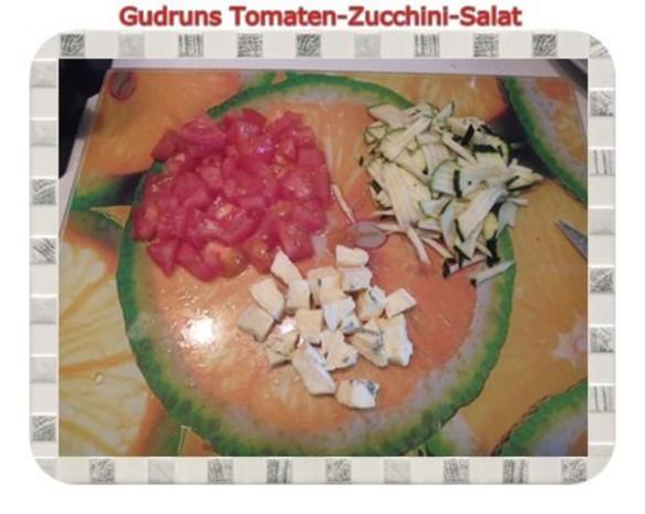Salat: Tomaten-Zucchini-Salat - Rezept - Bild Nr. 4