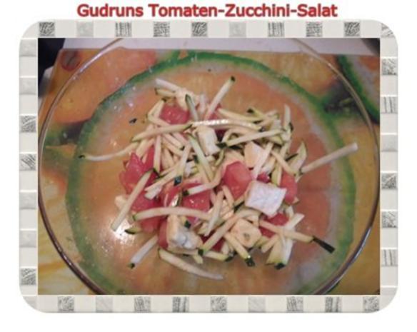 Salat: Tomaten-Zucchini-Salat - Rezept - Bild Nr. 5
