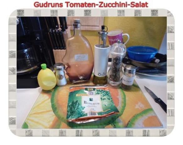 Salat: Tomaten-Zucchini-Salat - Rezept - Bild Nr. 6
