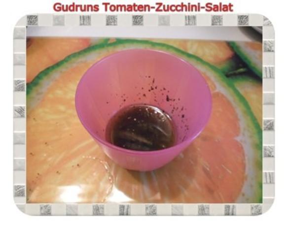 Salat: Tomaten-Zucchini-Salat - Rezept - Bild Nr. 7