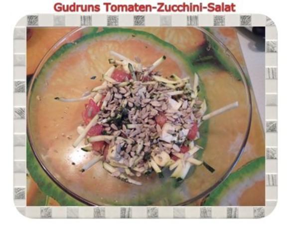 Salat: Tomaten-Zucchini-Salat - Rezept - Bild Nr. 8