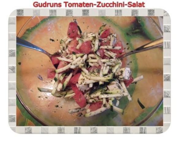 Salat: Tomaten-Zucchini-Salat - Rezept - Bild Nr. 9