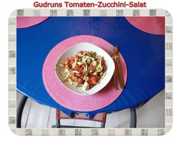 Salat: Tomaten-Zucchini-Salat - Rezept - Bild Nr. 10