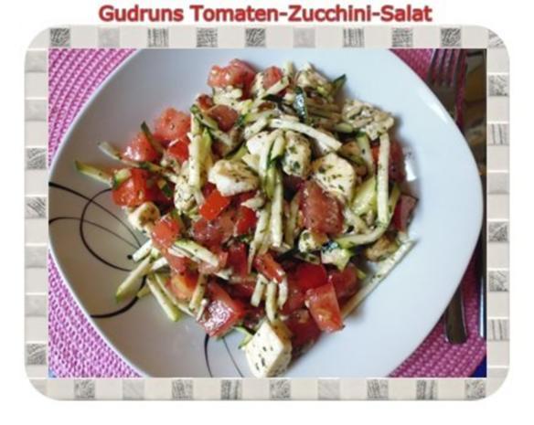 Salat: Tomaten-Zucchini-Salat - Rezept - Bild Nr. 11