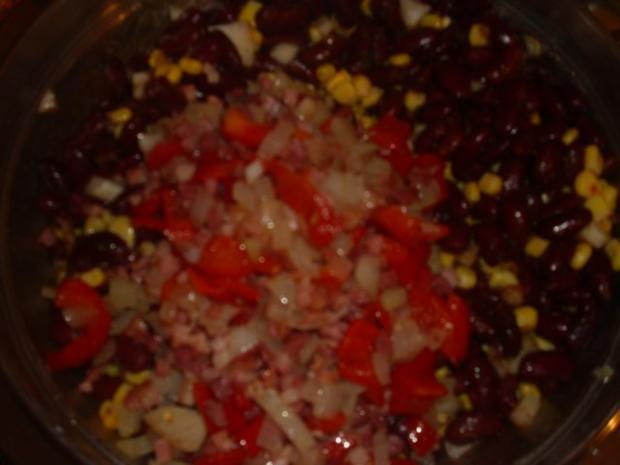 Kidneybohnen Salat - Rezept