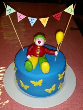 Regenbogen-Torte - Rezept - Bild Nr. 2
