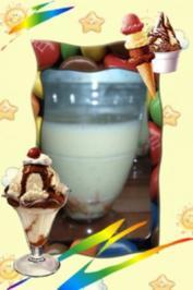 Eis : mal mit Vanille und weißer Schoki - Rezept