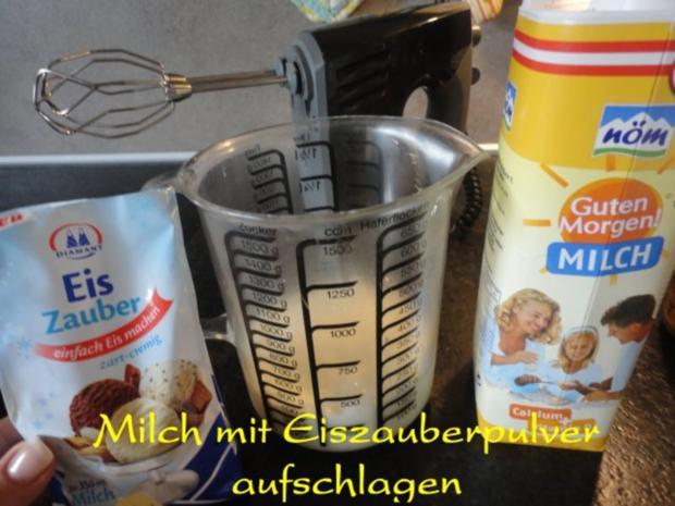 Eiszauber:  Baileys - Cappuccino - Eis - Rezept - Bild Nr. 3