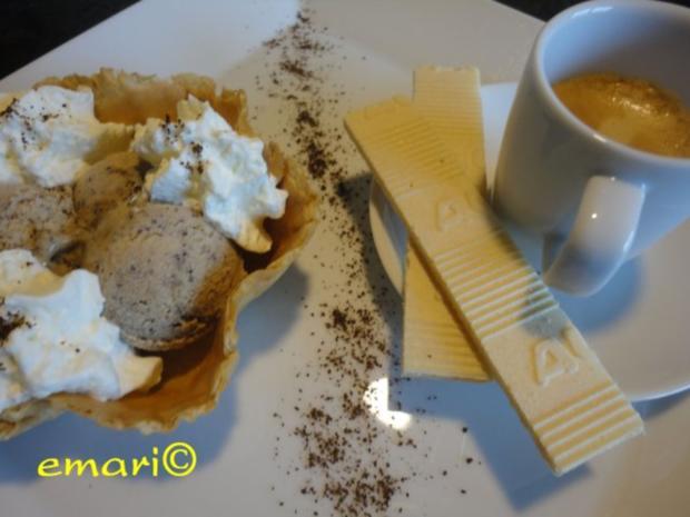 Eiszauber:  Baileys - Cappuccino - Eis - Rezept - Bild Nr. 2