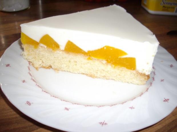 Pfirsich Quarksahne Kuchen Rezept Mit Bild Kochbar De