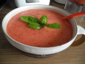 Smoothie : Erdbeer - Bananen - Aprikosen - Smoothie - Rezept