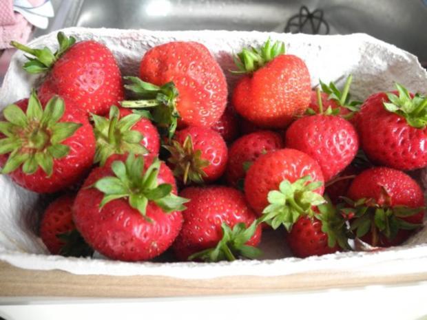 Smoothie : Erdbeer - Bananen - Aprikosen - Smoothie - Rezept - Bild Nr. 5
